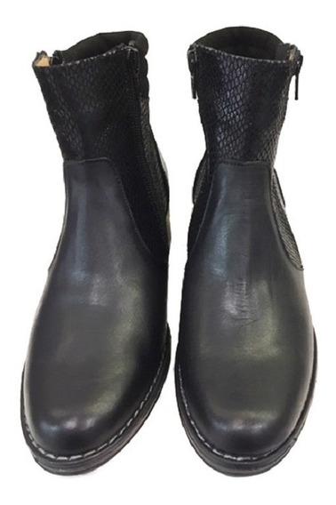 Botas Cómodas Para Damas Modelo 3682 / Negro