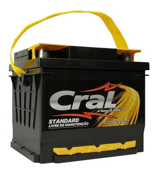 Bateria De Carro 50 Amperes Cral Standard