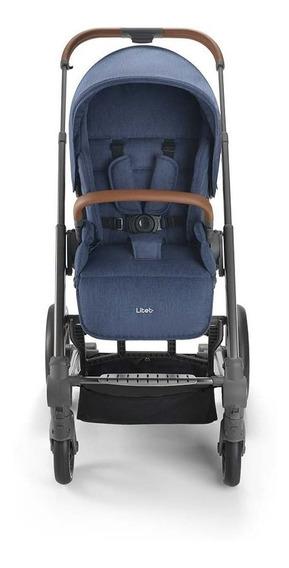 Carrinho De Bebê Rover 6m Até 15kg Azul Litet - Bb670