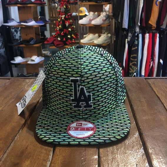 Gorra New Era Los Angeles Dodgers / Visera Plana Mlb