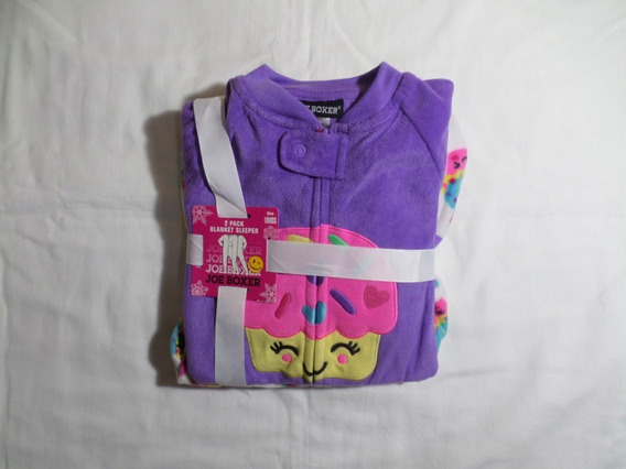 Kit C/ 2 Macacão Fleece (18 Meses) Joe Boxer - Original Eua
