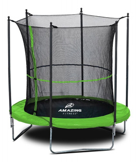 Trampolín Brincolín Con Red 2.5 Mts (8ft) Amazing Fitness®