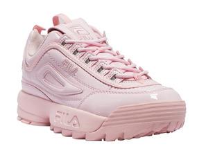 Zapatillas Fila Disruptor 2 Premium Patent Pink Originales
