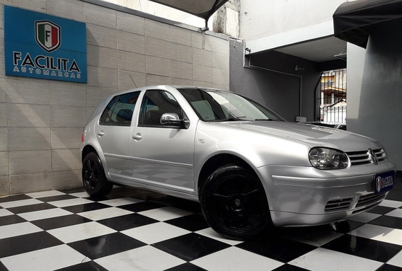 Volkswagen Golf 1.6 Flash Flex Com Couro E Kit Multi Mídia