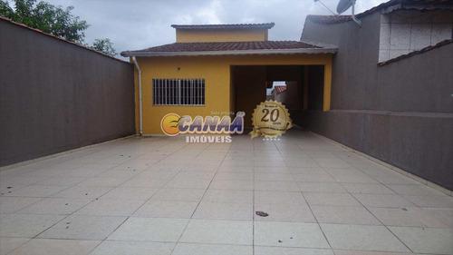 Casa Com 3 Dorms, Balneário Itaguai, Mongaguá - R$ 230 Mil, Cod: 6155 - V6155
