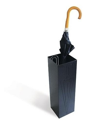 Cesto Porta Guarda-chuva Aço Preto Vazado Frete Grátis