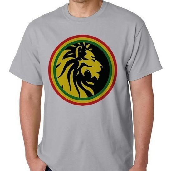 Camiseta Leão Do Reggae Camisa Blusa Masculino Feminino