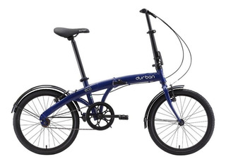 Bicicleta Dobrável Durban Eco Aro 20 Azul