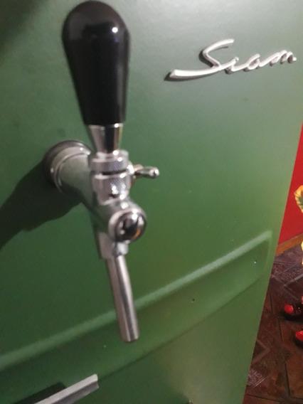 Heladera Chopera Siam Restaurada A 0km Y Con El Barril Incl!
