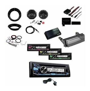 Jvc Cd Mp3 Bluetooth Receptor De Radio Marina Con Control De