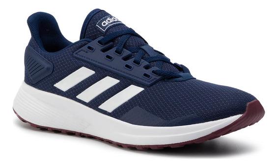 Zapatilla Hombre adidas Duramo 9 Running Original Azul O
