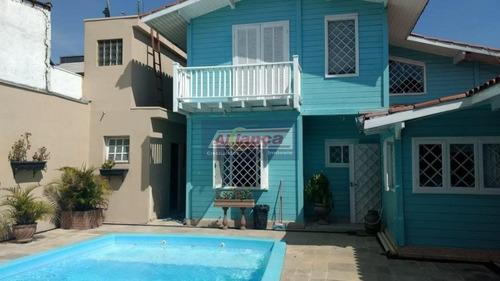 Sobrado Residencial À Venda, Jardim Bom Clima, Guarulhos - So1607. - Ai8550