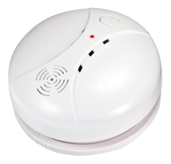 Detector Humo Autonomo Certif. Ce En14604 Interconectable + Bateria 9v