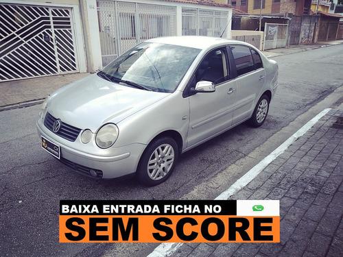 Volkswagen Polo Sedan Financiamento Sem Score