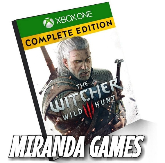 The Witcher 3 Complete Edition Xbox One Midia Digital