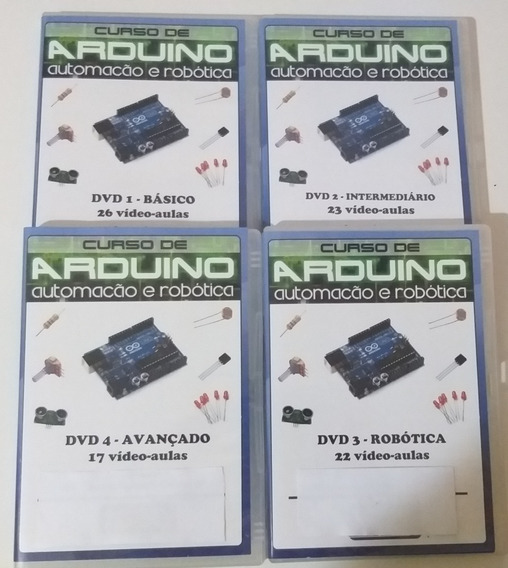 Curso Arduino Automação Robótica 04 Dvd