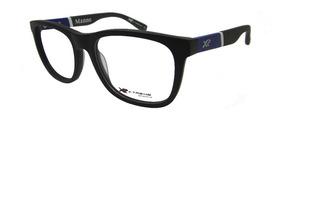 Armação Óculos De Grau X-treme Manno Preto Fosco Masculino