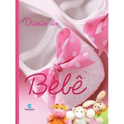 Livro Diário Do Bebê Gestação Presente Chá Bebê Menina