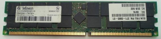 Memória Infineon Hys72d256220hbr-5-b 2gb Para Servidor