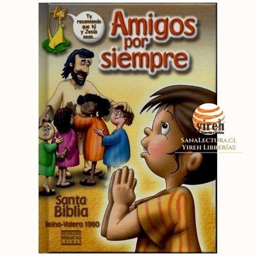 Imagen 1 de 2 de Biblia Amigos Por Siempre - Rv 1960