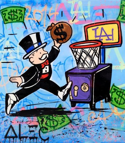 Poster Grafite 60cmx70cm Arte Urbana Alec Monopoly #2
