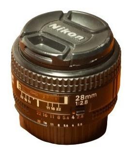 Lente Nikon Af Nikkor 28mm 2.8