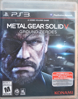 Metal Gear Solid V Ground Zeroes Ps3 Play Magic