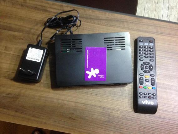 Sagemcom Dsitiw74 Com Controle E Fonte E Cartão Vivo