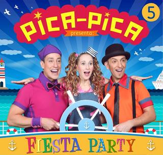 Pica Pica - Fiesta Party - Disco Cd + Dvd - Nuevo