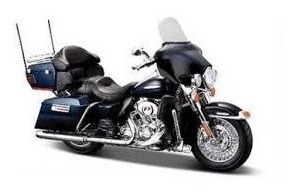Maisto Moto Harley Davidson Electra Glide Re- Buena!!!
