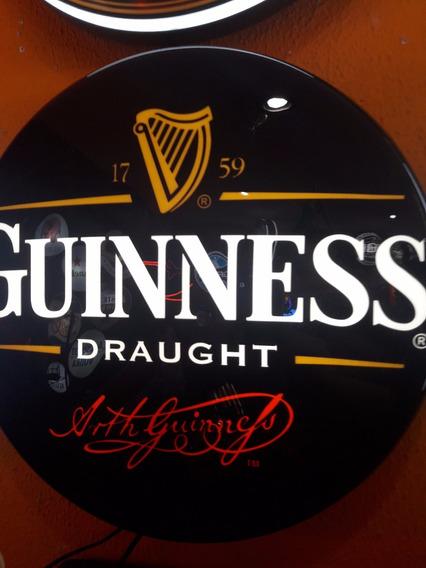 Luminoso Cerveja Guiness N Neon Led Bar Buteco Churrasqueira