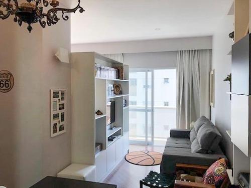 Apartamento Com 1 Dormitório Para Alugar Por R$ 3.500/mês - Barra Funda - São Paulo/sp - 10849
