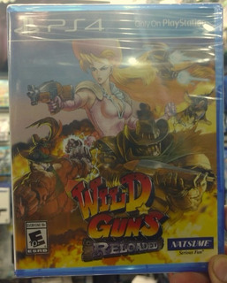 Wild Guns Reloaded Ps4 Playstation Nuevo Sellado Disponible