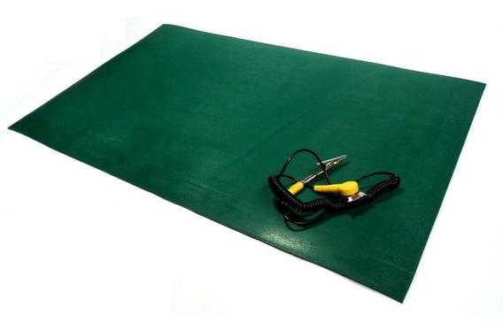 Manta Antiestatica Verde Duas Camadas Statron Esd 1200x600mm