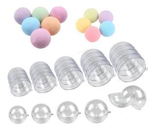Esfera Molde Para Bomba De Baño 6 Pzas De 5 Cm