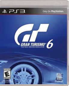 Gran Turismo 6 Gt 6 - Mídia Física / Ps3