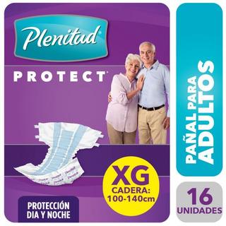 Pañal Para Adultos Plenitud Protect 16u Varios Tamaños