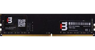 Memoria Ram 4gb 288p Ddr4 U-dimm 2400 Blackpcs Md22402-4gb