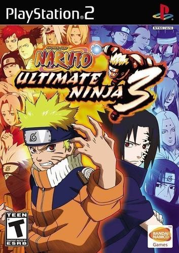Imagem 1 de 9 de Naruto Ultimate Ninja 3 - Ps2
