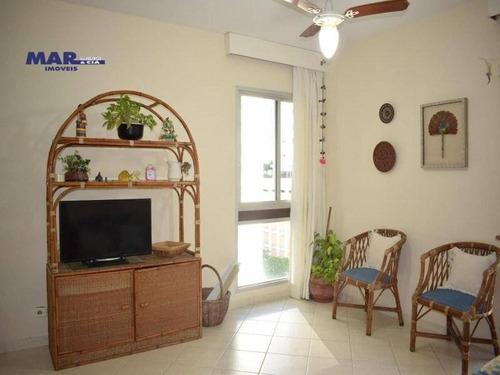 Imagem 1 de 10 de Apartamento Com 2 Dormitórios À Venda, 100 M² Por R$ 390.000,00 - Pitangueiras - Guarujá/sp - Ap9587