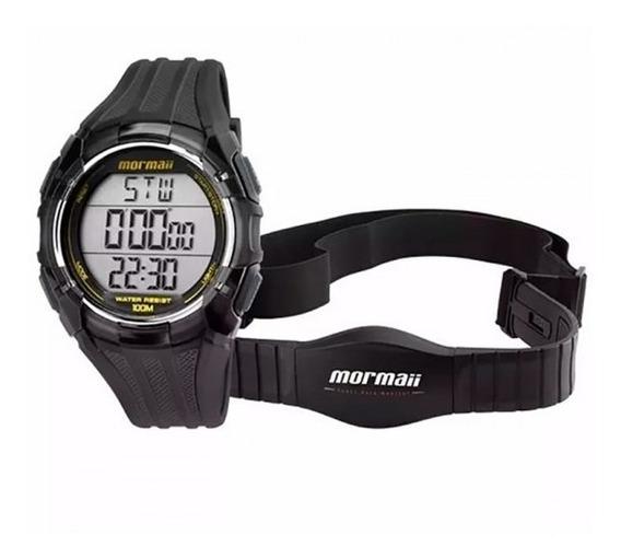 Relógio Masculino Mormaii Monitor Cardíaco Mo11558a/8a