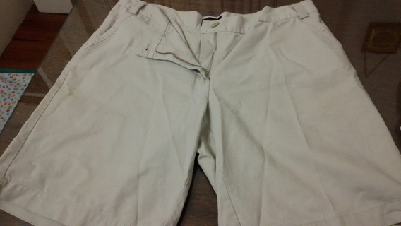 Short Portsaid Beige Mujer Talle L