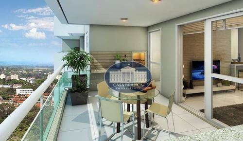 Apartamento Com 3 Dormitórios , 1 Suite À Venda, 98 M², Lazer Completo - Parque Das Paineiras - Birigüi/sp - Ap1060