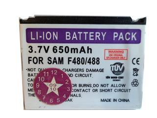 Bateria Para Samsung Sgh-f480 488 650mah (2009) Uz4572