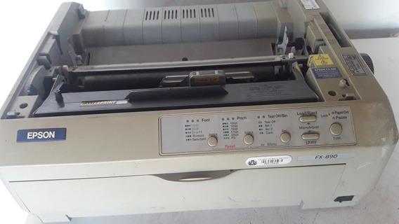 Impressora Matricial Tatuagem Fx890 Epson Fx 890 Sem Testes