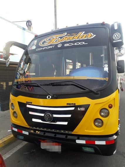 Minibus Volswagen 9150 Año 2013,vendo Con Derechosyacciones