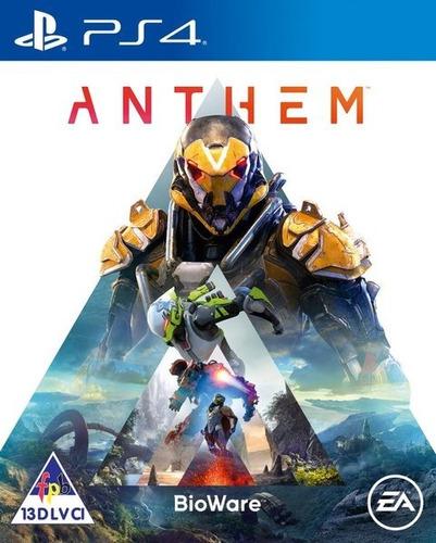 Anthem Ps4 Juego Fisico Nuevo Original Sellado Blu-ray Full