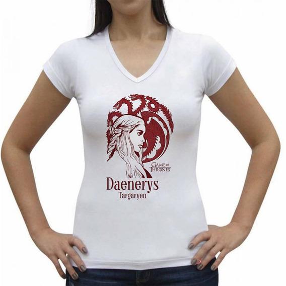 Camiseta Daenerys Targaryen Got / Masculina E Feminina.