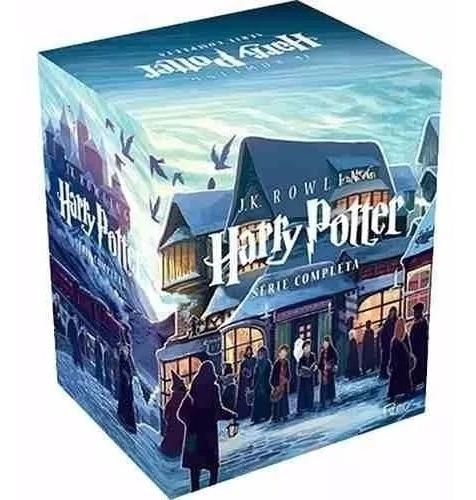 Box Livro Coleção Completa Harry Potter - 7 Volumes Lacrado