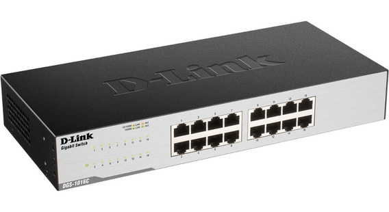 Switch D-link Dgs-1016c 16 Portas Gigabit-ethernet